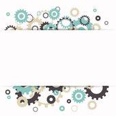 Vetor abstrato de engrenagens — Vetorial Stock