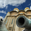 Stock Photo: Tsar Cannon and Tsar Bell, Moscow Kremlin