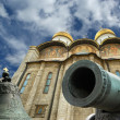 Tsar Cannon and Tsar Bell, Moscow Kremlin — Stock Photo