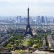 The city skyline at daytime. Paris, France — Stock Photo #14214008