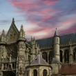 Cathedral (Notre Dame) of Senlis, Oise, Picardy, France — Stockfoto
