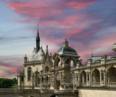 Chateau de Chantilly ( Chantilly Castle ), Oise, France — Stock Photo