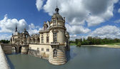 Panoramic view of the hateau de Chantilly, France — Stock Photo