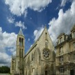 France, senlis, picardy, oise--- Saint Vincent Abbey — Stock Photo