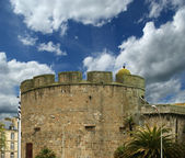 Saint-Malo-- is a walled port city in Brittany in northwestern France — Stock Photo