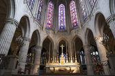 The interior Church of Saint-Germain-l'Auxerrois, Paris, France — Zdjęcie stockowe