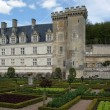 Villandry chateau and its garden, Loire Valley, France - Stock Photo