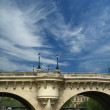Paris, France. Bridge over the River Seine — Stock Photo #14763043