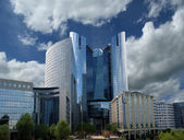 La Defense, commercial and business center of Paris — Stock Photo