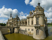 Chateau de chantilly (zámek chantilly), Francie — Stock fotografie
