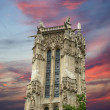Tour Saint-Jacques, Paris, France - Zdjęcie stockowe