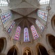 Interior Church of Saint-Germain-l'Auxerrois, Paris — Stock Photo