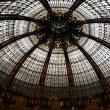 Ceiling of the Lafayette luxury shopping mall in Paris — ストック写真