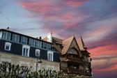 Deauville, Basse-Normandie region in northwestern France — Stock Photo
