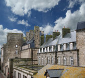 Saint-Malo-- Brittany in northwestern France — Stock Photo