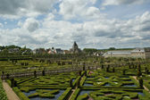 Villandry chateau, Loire Valley, France — Stock Photo