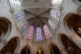Interior igreja de saint-germain-l ' auxerrois, paris — Foto Stock