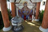 Our Lady Tsambika monastery. Rhodes. Greece — 图库照片
