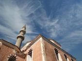 Mezquita en el casco antiguo, rodas, grecia — Foto de Stock