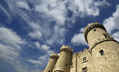 Rhodes Medieval Knights Castle (Palace), Greece — Stock Photo