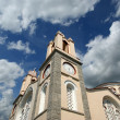 Orthodox Church of St. Panteleimon, the island of Rhodes, Greece - Stok fotoğraf
