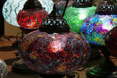 Lámparas tradicionales turcas — Foto de Stock
