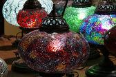 Tradiční turecké lampy — Stock fotografie