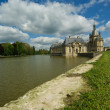Chateau de Chantilly ( Chantilly Castle ), Picardie, France — Stock Photo