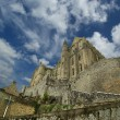 Mont Saint-Michel, Normandy, France - Stock Photo