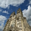 Gothic cathedral of Saint Gatien — Stock fotografie
