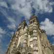 Gothic cathedral of Saint Gatien — Stock Photo