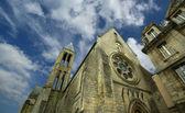 France, senlis, picardy, oise--- Saint Vincent Abbey — Stock Photo