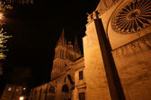 Saint-Maurice Cathedral at night, Angers, France — Stock Photo