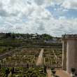 Royalty-Free Stock Photo: Villandry chateau and its garden, Loire Valley, France