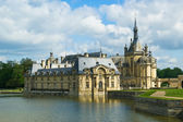 Chateau de Chantilly ( Chantilly Castle ), France — Stock Photo