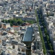 Telescope viewer and city skyline at daytime. Paris, France. — Stock Photo #18405539