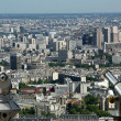 Telescope viewer and city skyline at daytime. Paris, France. — Stock Photo #18405701