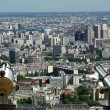Telescope viewer and city skyline at daytime. Paris, France. — Stock Photo #18405707