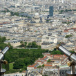 Telescope viewer and city skyline at daytime. Paris, France. — Stock Photo #18405853