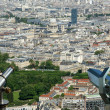 Telescope viewer and city skyline at daytime. Paris, France. — Stock Photo #18405885