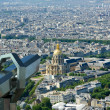 Telescope viewer and city skyline at daytime. Paris, France. — Stock Photo #18406053