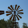 Old ranch windmill — Stock Photo