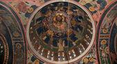 Das Innere der orthodoxen Kirche von st. Pantaleon, Rhodos — Stockfoto