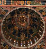 The interior of the Orthodox Church of St. Panteleimon, Rhodes — Stockfoto