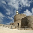 Stock Photo: Rhodes Tower of St. Nicholas, Greece
