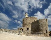 Rhodos turm von st. nikolaus, griechenland — Stockfoto