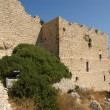 Medieval Castle of Kritinia in Rhodes Greece, Dodecanese — Stock Photo