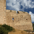 Medieval Castle of Kritinia in Rhodes Greece, Dodecanese — Stock Photo #21891461