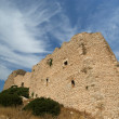 Medieval Castle of Kritinia in Rhodes Greece, Dodecanese — Stock Photo #21891869