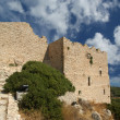Medieval Castle of Kritinia in Rhodes Greece, Dodecanese — Stock Photo #21892055